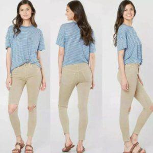 Free People Skinny Jean Size 26 w/ Rips